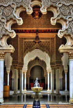 La Alhambra, Granada, Andalucía, España.