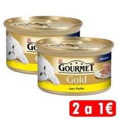 Los alimentos de Gourmet Gold están especialmente formulados para satisfacer a los paladares más exigentes gracias a sus recetas elaboradas con un especial cuidado para ofrecer a tu gato los alimentos con la más alta palatabilidad.