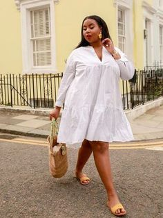 Outfits Plus Size, Curvy Outfits, Stylish Dresses, Casual Dresses, Summer Dresses, Stylish Clothes, Fall Dresses, Short Dresses, African Attire