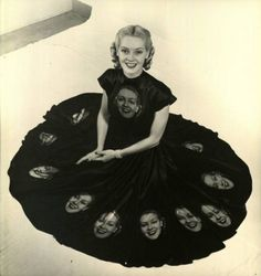 Alice Faye, in what may be the coolest dress ever. EVER.