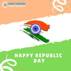 Craft Driven Market Research wish you all Happy Republic Day!