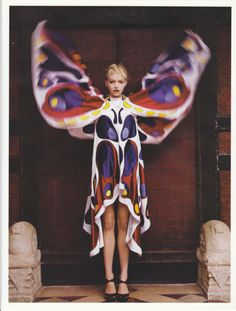 Gemma Ward for Vogue Paris
