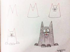 Így rajzolj cuki figurákat a gyereknek pár lépésben! - Akkor is menni fog, ha botkezed van