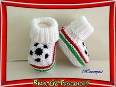 Babyschuhe WM  BELLA ITALIA von Hexenpott auf DaWanda.com