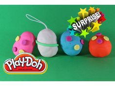 Плейдо Яйцо Сюрпризы ИГРУШКИ Play doh Egg Surprises TOYS
