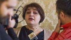 Journalists, CPJ and Human Right activists call for journo Khadija Ismayilova to be freed.