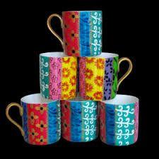 Kuvahaun tulos haulle hand painted mugs Hand Painted Mugs, Tableware, Painting, Home Decor, Dinnerware, Dishes, Painting Art, Interior Design, Paintings