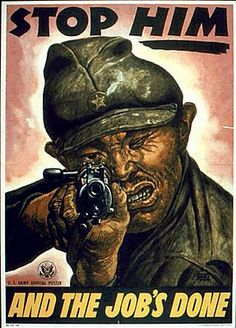 World War 2 Poster  How we dehumanise in times of war.