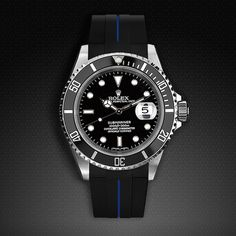 Strap for Rolex Submariner - Tang Buckle Series VulChromatic® | RUBBER B | RUBBER STRAP FOR ROLEX, PANERAI, WATCHES