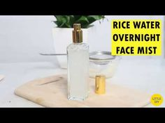 Rice water is the main ingredient in Korean skin care and hair care routine, no wonder Koreans have such amazingly flawless skin. Rice water is a great beauty ingredient and can help lighten pigmentat Aloe On Face, Toner For Face, Rice Water For Face, Homemade Hair Growth Oil, Green Tea For Hair, Hair Thickening Spray, Face Care Routine, Face Skin Care, Facial Care