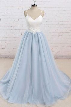Backless Ball Gown Long Prom Dress 2018 Wedding Party Dress Formal Evening Gowns PDS0440