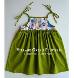 village 7 this would be so cute with little bloomers, but I have no little girls.