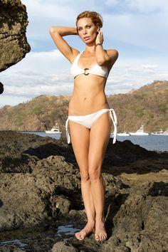 Bikini swimsuit fashion photoshoot.