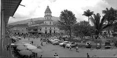 Parque de Caldas año 1965 - foto publicada por Luis Maria Usma