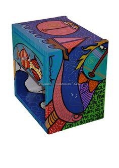 ARTE APLICADO : Claudio Baldrich Artista Plastico Painted Bedroom Furniture, Decorative Boxes, Hand Painted, Painting, Home Decor, Painted Chairs, Painted Wood, Salvaged Furniture, Appliques