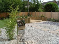 small garden designs low maintenance | landscape ideas and pictures