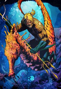 Aquaman by Ryan Benjamin