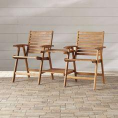 Best Patio Furniture Conversation Sets Wooden Dining Bistro Wood Garden Pool New…
