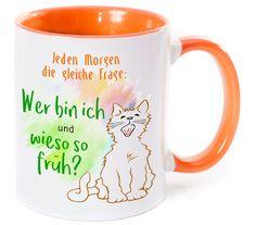 **Suchst du ein pfiffiges & ausgefallenes Geschenk für Morgenmuffel?** Dann wirst Du bei dieser bunten Morgenmuffel-Tasse bestimmt fündig! Denn alle lieben Tassen! Und vor allem diese mit...