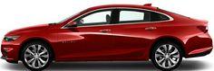 2016 Red Chevrolet Malibu
