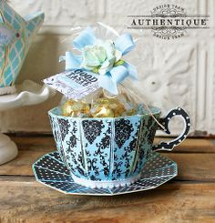 "Authentique Paper: An ""Elegant"" Tea Party"