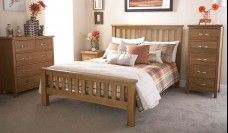 Bowthorpe Wooden Bed Frame