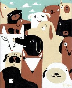 Dogs (illustrated by Sara Pulver)
