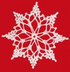Snowflake Christmas Ornament – Free Crochet Pattern