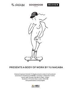 人気アーティスト「長場雄」のアートショウをロンドンの「THE GOODHOOD STORE」で開催します