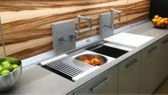 Image result for galley kitchen sinks
