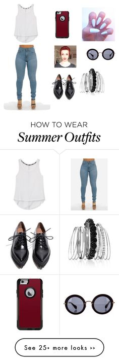 """""""Wednesday outfit"""" by cbulpett on Polyvore featuring Rebecca Minkoff, Miu Miu, Jeffrey Campbell, OtterBox and Avenue"""