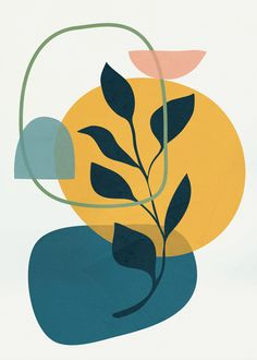 Abstract Modern Art 16 Art Print by Flow Line - X-Small Abstract Line Art, Modern Abstract Art, Modern Art Prints, Abstract Oil, Modern Art Paintings, Abstract Print, Art Minimaliste, Motif Art Deco, Diy Canvas Art