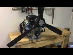 This is our belt reduction drive and propeller combo for the Harbor Freight Predator 22 engine. It's a great power package for a mini-airboat or hovercraft. Hovercraft Diy, Mini Pontoon Boats, Shallow Water Boats, Mud Motor, Kit Planes, Aviation Engineering, Bay Boats, Sand Rail, Boat Engine