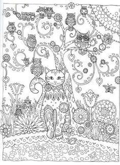 creative haven creative cats coloring book pdf google search