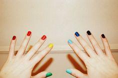 Uñas de colores :D