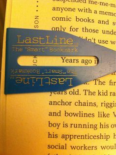 "Could do this type of bookmark with the crafty ""paperclip & tape or ribbon"" bookmarks that are all over Pinterest."