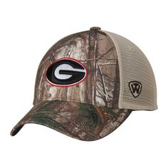 3dead348ae6 Georgia Bulldogs TOW Camo Mesh Prey Adjustable Snapback Hat Cap