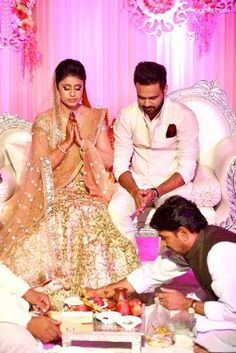 Beautiful engagement ceremony by the Indian Wedding Planners