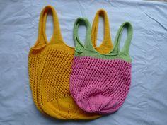 Let's go shopping - Market bag, free pattern by Linda Skinlo