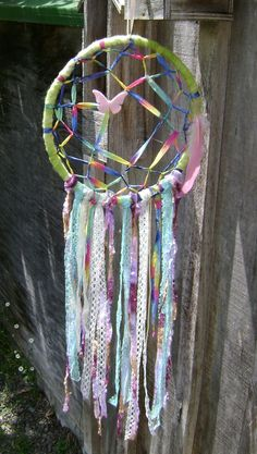 Wool dream catcher
