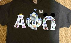 Dooney and Bourke Disney inspired letters