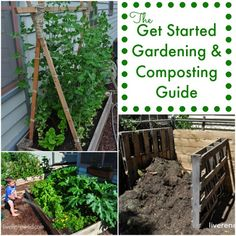 The Get Started Gardening and Composting Guide