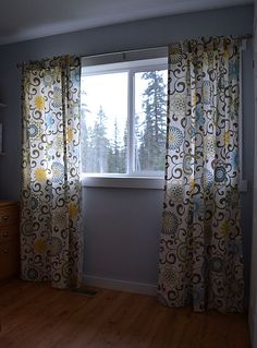 Ana White | Build a Tab Top Curtains ... and a Giveaway! | Free and Easy DIY Project and Furniture Plans