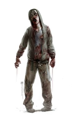 Zombie by BjornHurri cc: Zombie Pose, Zombie Art, Resident Evil, Apocalypse World, Apocalypse Art, Zombies, Walking Dead, Aliens, Alone In The Dark
