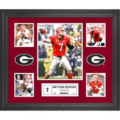 Matthew Stafford Georgia Bulldogs Fanatics Authentic Framed 5-Photograph Collage - $103.99
