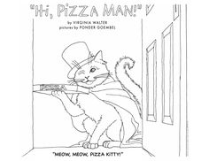 """From """"Hi, Pizza Man!"""" by Virginia Walter and Ponder Goembel"""