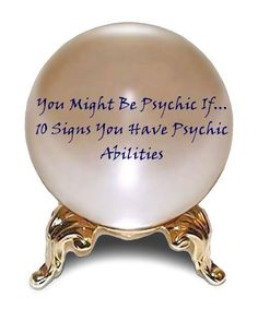 You might be psychic signs you have psychic abilities number 10 is my favorite! psychic, development, book of shadows, psychic advancement, spells Psychic Development, Spiritual Development, Medium Readings, Online Psychic, Spell Caster, Candle Spells, Psychic Mediums, Love Spells, Charmed Spells