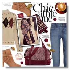 """""""Holiday Style: Cozy Chic"""" by sans-moderation ❤ liked on Polyvore featuring Isabel Marant, Yves Saint Laurent, J Brand, Too Faced Cosmetics, Deborah Lippmann, polyvoreeditorial, polyvorecontest and tribalover"""
