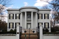 The Mississippi Governor's Mansion is a historic U.S. residence in Jackson, Mississippi, located at 300 East Capitol Street. It is the second oldest executive residence in the United States that has been continuously occupied as a gubernatorial residence (only Virginia's Executive Mansion is older).