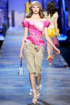 John Galliano for Christian Dior Spring Summer 2011 Ready-to-Wear